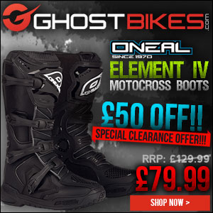 Oneal Element IV ES Motocross Boots Offer