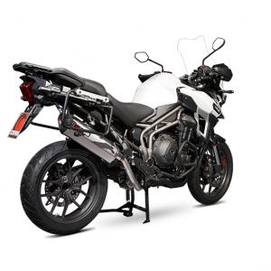 Scorpion Exhausts release Serket Parallel For Triumph Tiger 1200 Explorer 16-Current
