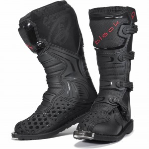 The Black MX Enigma Motocross Boots Detailed Look