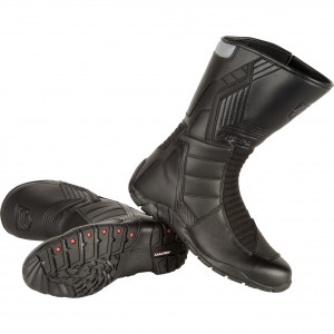The Akito Stealth Motorcycle Boots
