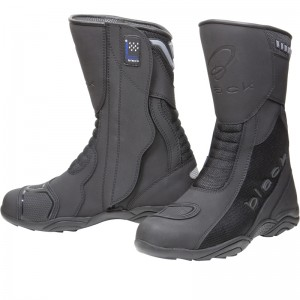The Black Oxygen Elite Motorcycle Boots