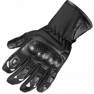 The Agrius Stealth Leather Motorcycle Gloves