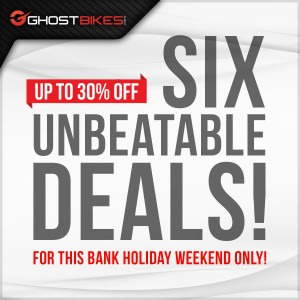 SIX Amazing Deals this Bank Holiday Weekend!