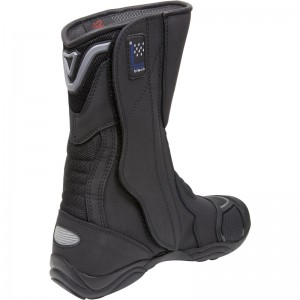 Black-Oxygen-Elite-Waterproof-Motorcycle-Boots-5