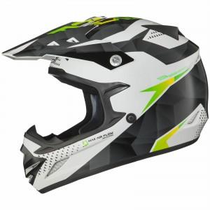The Shox MX-1 Motocross Helmet