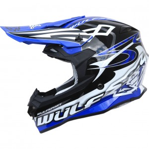 The Wulf Sceptre Motocross Helmet