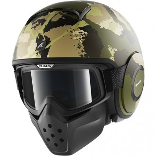 14294 - Shark Drak Kurtz Open Face Motorcycle Helmet-GEK-742-1