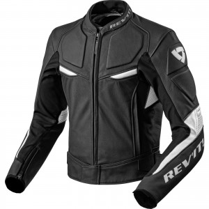 The Rev'It Masaru Leather Motorcycle Jacket