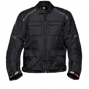 The Black Venture Motorcycle Jacket