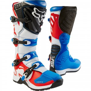 The Fox Racing Comp 5 Motocross Boots
