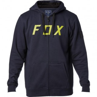 Fox Racing District 2 Zip Fleece Hoodie Midnight