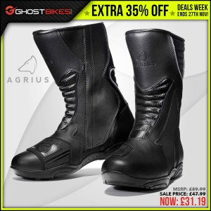 DEALS WEEK – EXTRA 35% OFF AGRIUS OSCAR LEATHER BOOTS usually £47.99 now £31.19