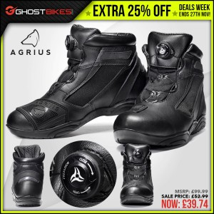 DEALS WEEK – EXTRA 25% OFF AGRIUS LIMA BOOTS usually £52.99 now £39.74