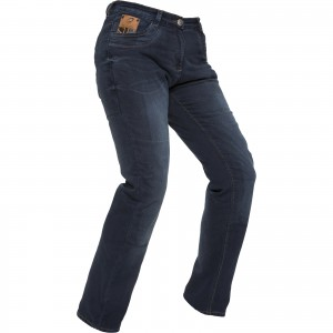 The Black Salus Ladies Motorcycle Jeans