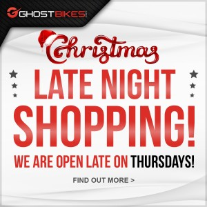Ghostbikes Preston –  Christmas Late Night Shopping!