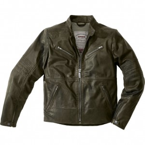 New! The Spidi Garage Leather Motorcycle Jacket
