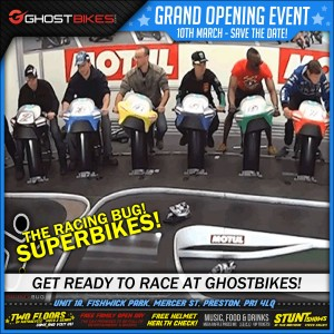 Grand Opening! The SuperBike Racing Bug!