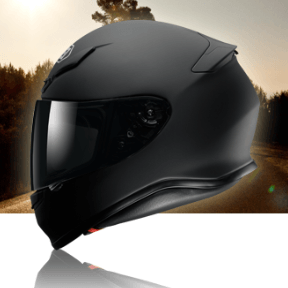 The Shoei NXR Motorcycle Helmet