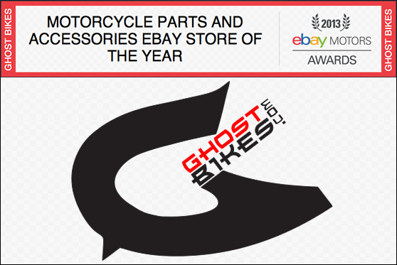 GhostBikes eBay Awards