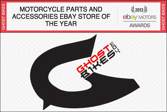 GhostBikes eBay Awards