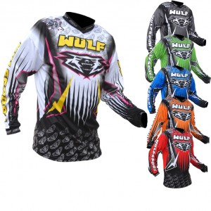 New 2016 range of Wulf Motocross