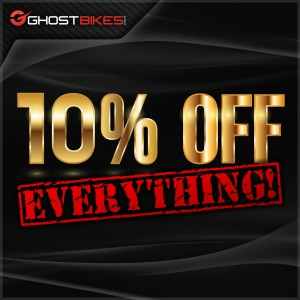 10% off EVERYTHING this Bank Holiday Weekend!