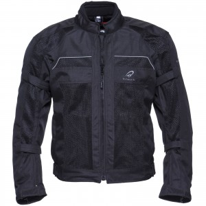 The Black Piston Mesh Summer Motorcycle Jacket