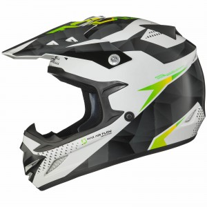 The Shox MX-1 Motocross Helmet