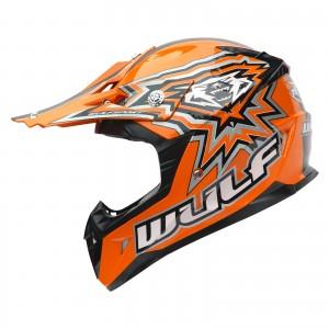The Wulf Cub Flite-Xtra Motocross Helmet