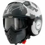 14294 - Shark Drak Kurtz Open Face Motorcycle Helmet-WSA-1274-1