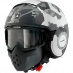 14294 - Shark Drak Kurtz Open Face Motorcycle Helmet-WSA-1274-1