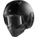 14300-Shark-Drak-Dual-Black-Open-Face-Motorcycle-Helmet-BLK-713-1