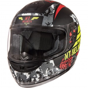 The MT Thunder Sniper Kids Motorcycle Helmet