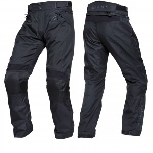 The Black Venture Motorcycle Trousers