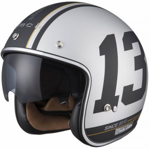 The Black Classic and Limited Edition Motorcycle Helmet