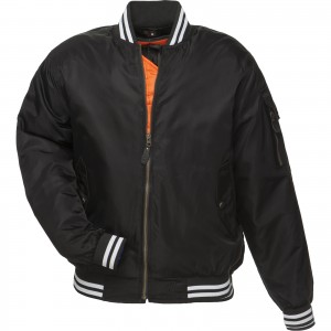 5238-Black-Iconic-Bomber-Jacket- Black -1600-1