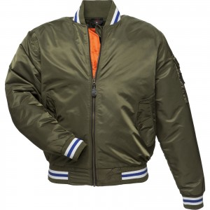 5238-Black-Iconic-Bomber-Jacket- Green -1600-1