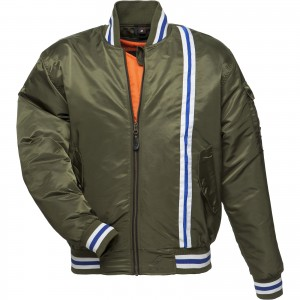 5239-Black-Retro-Bomber-Jacket- Green-1600-1