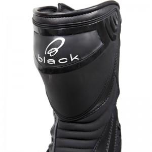 Black-Strike-Waterproof-Motorcycle-Boot-Black-4