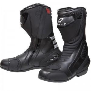 The Black Strike Waterproof Motorcycle Boots