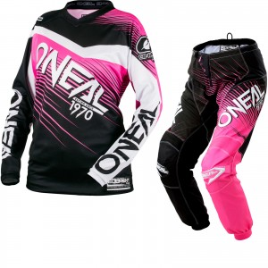 23297-Oneal-Element-2018-Racewear-Ladies-Motocross-Jersey-Pants-Kit-1600-0