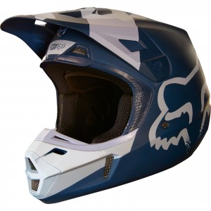 The Fox Racing V2 Motocross Helmet