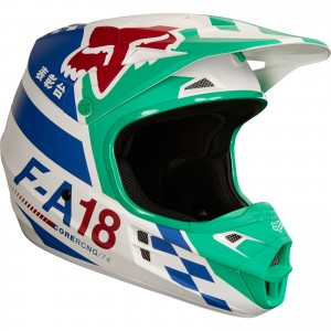 The Fox Racing V1 Motocross Helmet