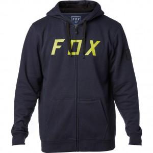 Fox Racing District 2 Zip Fleece Hoodie Midnight