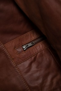 Artemis Brown Zip
