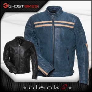 New! Leather Jackets from Black!