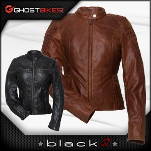 Black Ladies Leather Jackets!