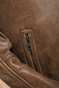 Cronus Brown Zip