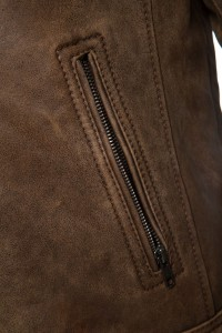 Cronus Brown zip 2
