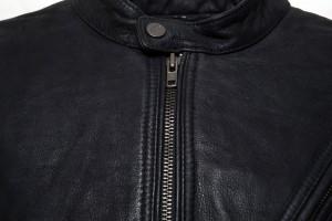 Erebus Black Zip Front